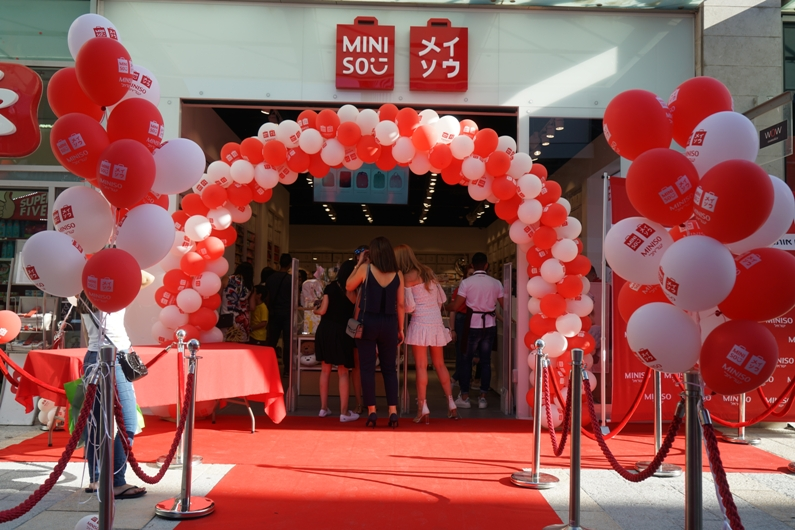 השקת BIG FASHION MINISO, נצרת