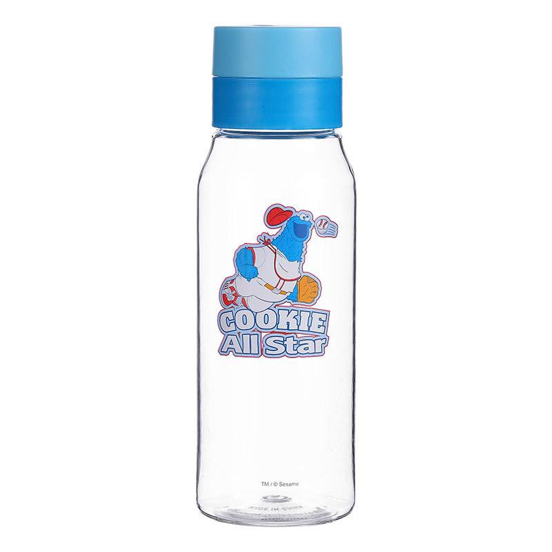 בקבוק מים מסדרת רחוב סומסום 450ML – כחול עוגיפלצת