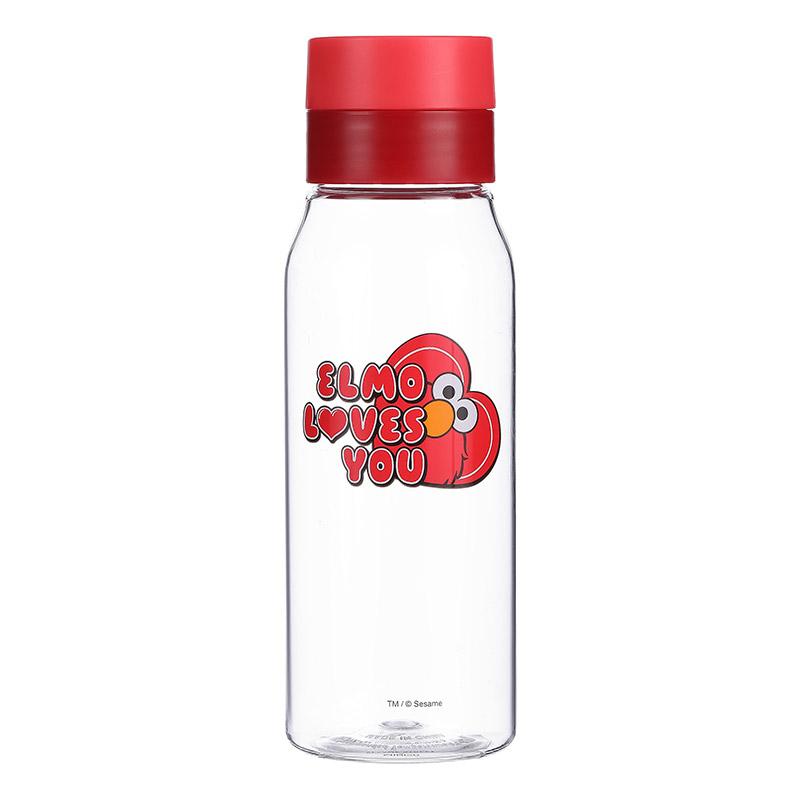 בקבוק מים מסדרת רחוב סומסום 450ML – אדום אלמו