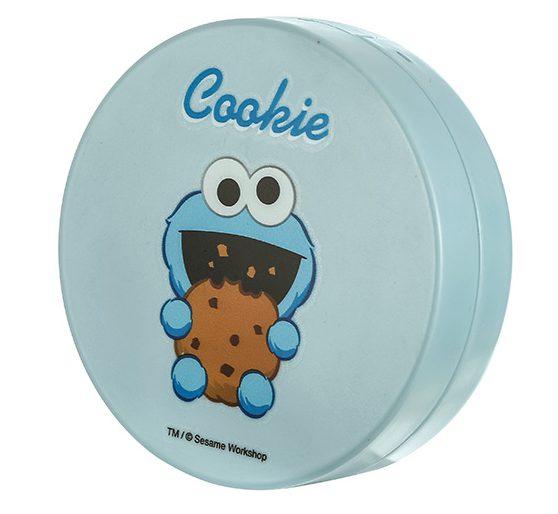 קופסא לעדשות מגע מעוצבת מסדרת רחוב סומסום- כחול עוגיפלצת