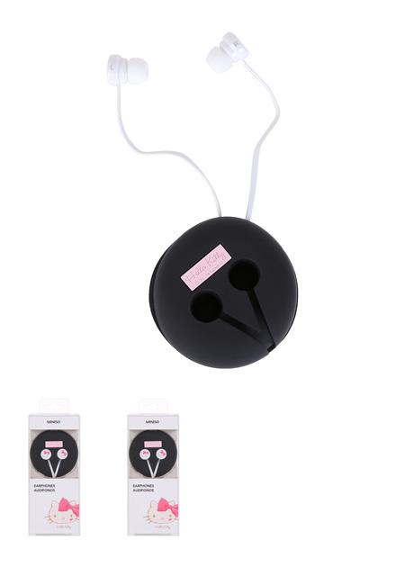 אוזניות הלו קיטי  – שחור