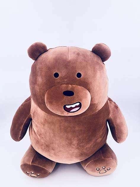 כרית מחממת ידיים- גריזלי מסדרת We Bare Bears