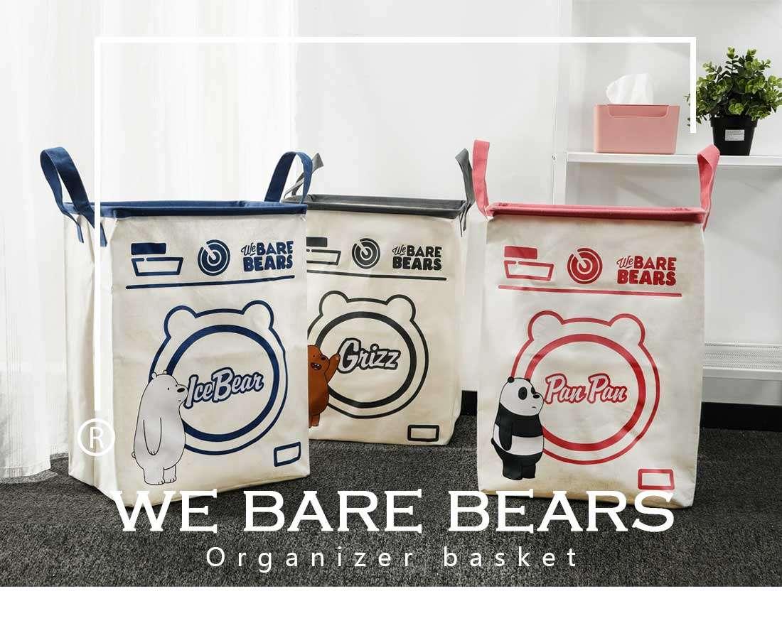 סל כביסה ואיחסון מסדרת We Bare Bears