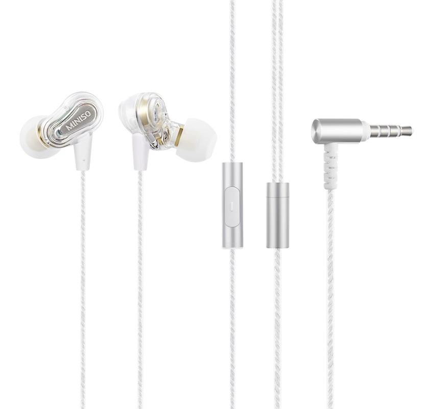 אוזניות לניד מעוצבות בצבע לבן