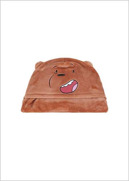 שמיכה נעימה ומחממת מסדרת We Bare Bears